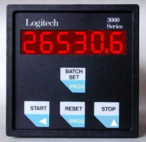 3000 Series Batch Controllers Display Panel